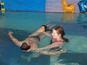 מרכז מים - שחיה לתינוקות